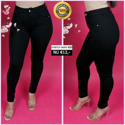 PRE ORDER Perfect Black Comfy Pants 33005 WORD UITERLIJK 25-01 VERZONDEN