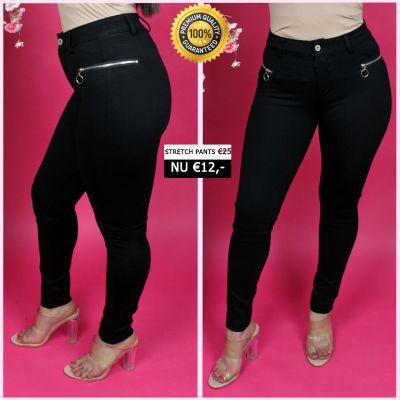 PRE ORDER Perfect Zip Details Pants 33006 WORD UITERLIJK 25-01 VERZONDEN