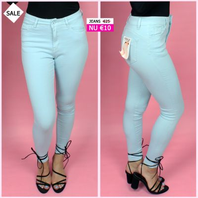 PRE ORDER Musthave Blue Push Up Jeans WORD 02-06 VERZONDEN