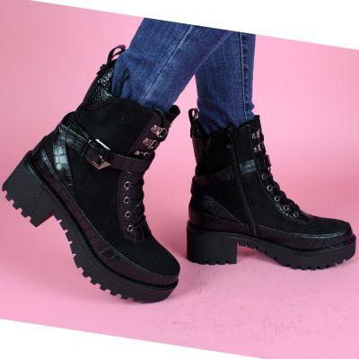 Loui Suedine Snake Detail Boots