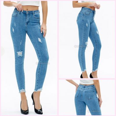 Premium Quality Stretch Ripped Jeans 77627