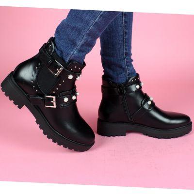 Zara Cute Pearls Boots 2019 A521