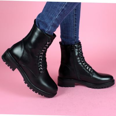 Chain & Laces Boots 88161