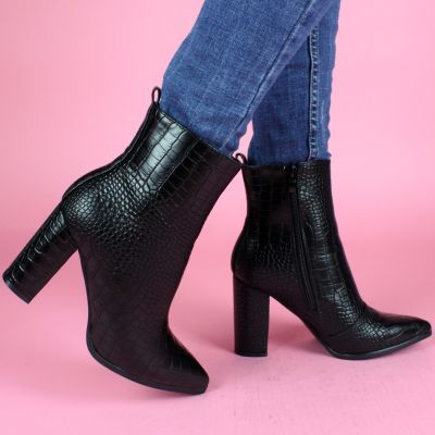 Croco Betty Heels Musthave