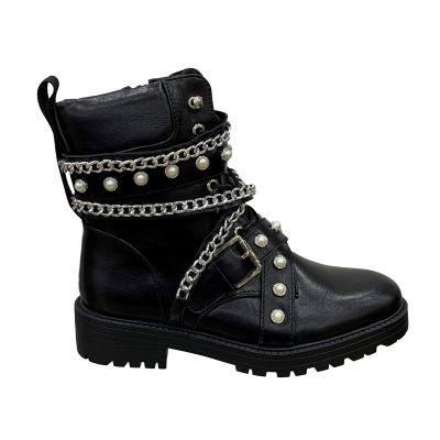 Zara Diamond Chains Boot 88333