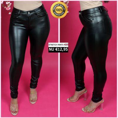 PRE ORDER Leather Look Perfect Pants 33003 WORD 25-01 VERZONDEN