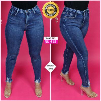 PRE ORDER Beautiful Stretch Jeans Premium Quality 95033 WORD UITERLIJK 20-10 VERZONDEN