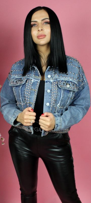 Diamond Denim Jacket