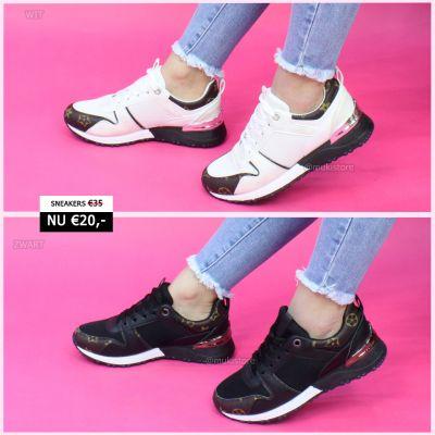 Loui Mono Print Sneaker High Quality SL023
