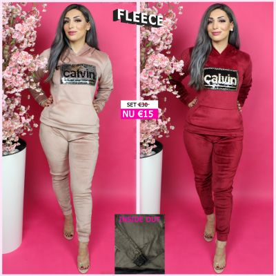 Fleece Joggingset Calvin Sequin 128 RP