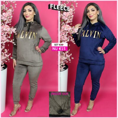 Fleece Joggingset Calvin Gold BB 283