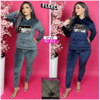 Fleece Joggingset Jadore Sequin BG 131