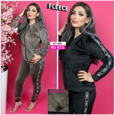 Fleece Joggingset La Perla ZB 268