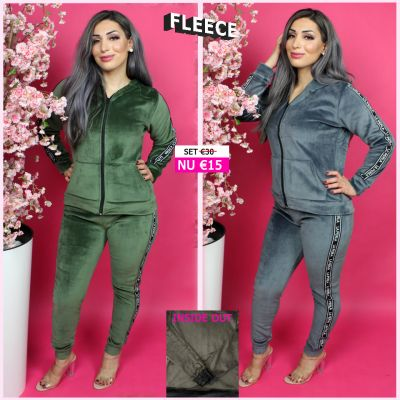 Fleece Joggingset La Perla GG 268