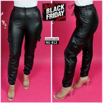 Musthave Trending Leather Jogger Pockets 78042-5