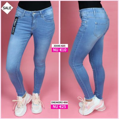 PRE ORDER All Clean High Waist Jeans W5193 WORD 02-06 VERZONDEN