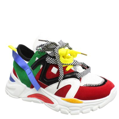 Red Musthave Boss Sneaker LL1757