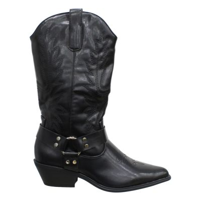 Musthave Western Silver RIng Boots A289