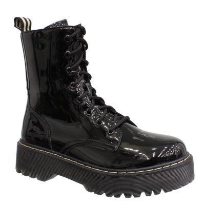 DR MIRROR HIGH SOLE BOOTS -112