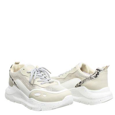 Spikkel Zool Sneaker Slang Detail LL1771
