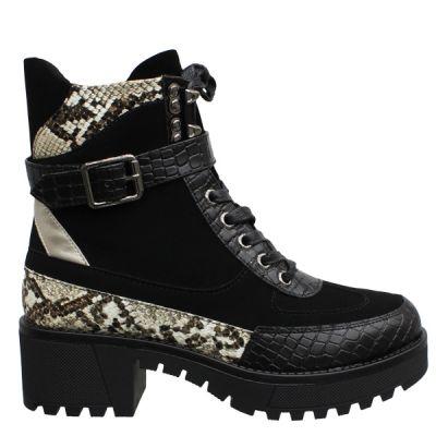 Loui Boots Shiny Snake detail K99131