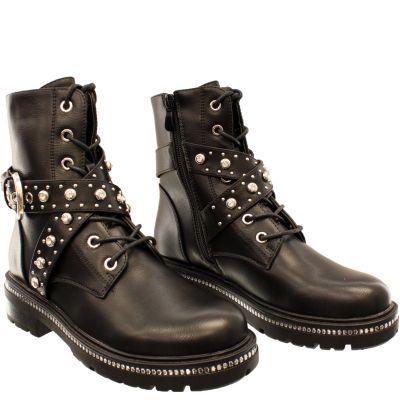 Lace Boot DIamond Straps K999-1