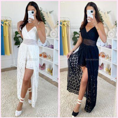PRE ORDER Lace Dress Playsuit WORD 30-06 VERZONDEN