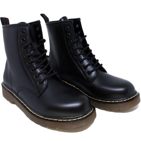 Famous Bootie Black PU 12098