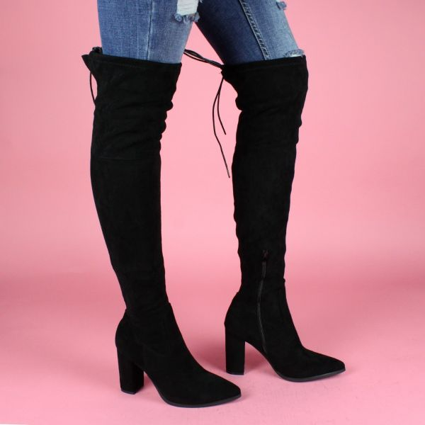 Perfect Overknees Lace A10