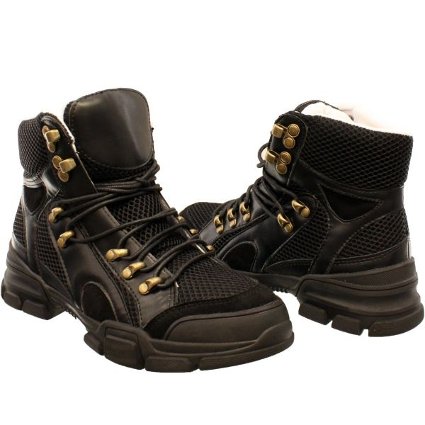 GUC Sneakers High Top Gold Details