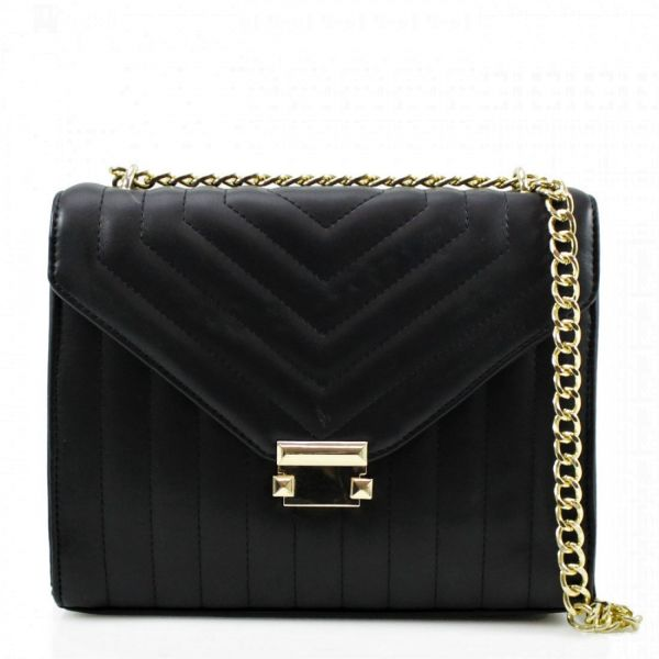 MK Quilted Bag Gold
