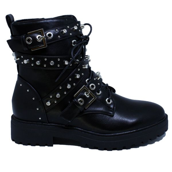 Zara Stone Studs Boots Musthave A342