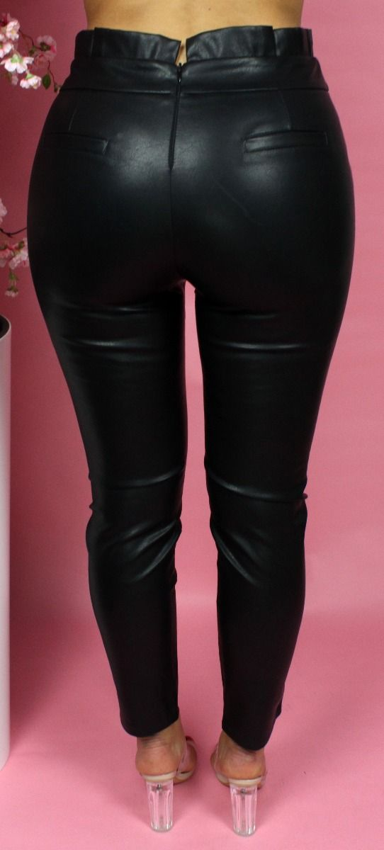 Musthave Gold V Leather Pants