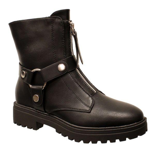 Avantgarde Boot MId Zip MK Detail A629