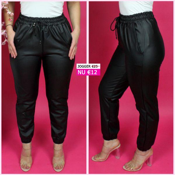 Mega Trending LeatherLook Jogger 8422