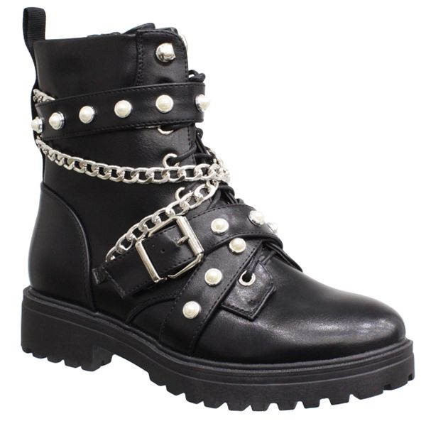 Zara Boots Pearls & Chains 2020 A630