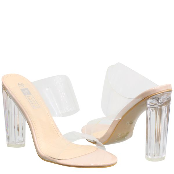 Transparant Kylie Heels LS5111