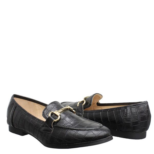 GUC Croco Loafers 66-188