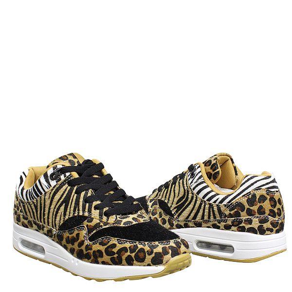 Zebra X Leopard Famous Air Sneaker R442