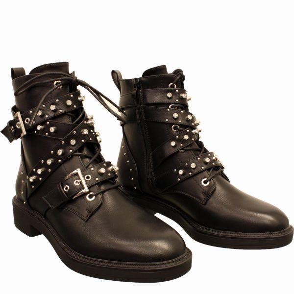 Zara New Style Diamond Boot A17