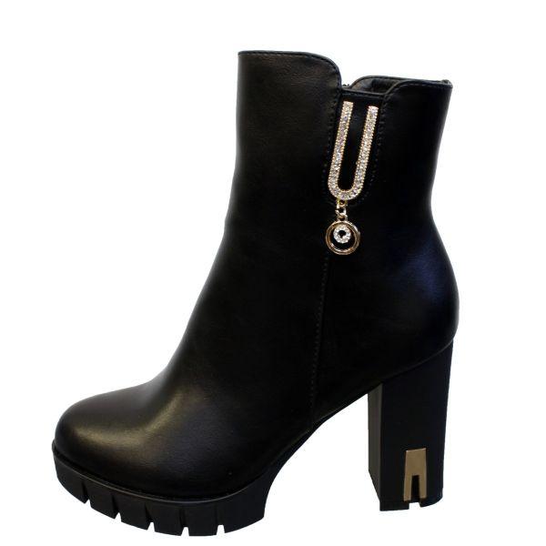 Gold Detail High Heels K9988