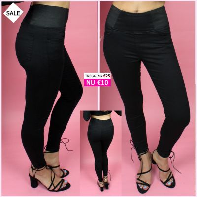 PRE ORDER Black High Waistband Tregging WORD 02-06 VERZONDEN