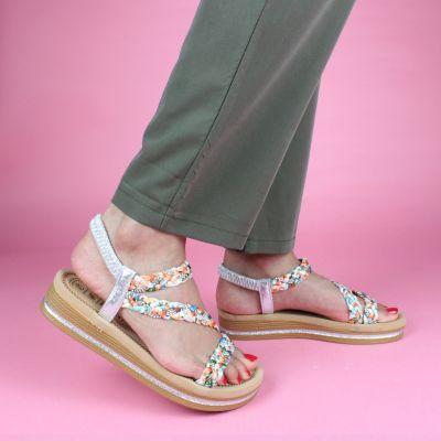 Musthave Multi Color Sandal Glitter LS-166