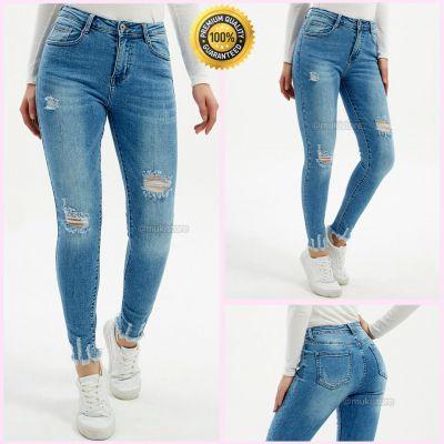Premium Quality Stretch Distressed Jeans 77576