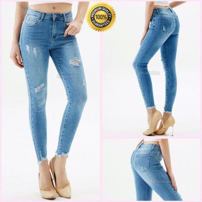 Premium Quality Stretch Distressed Jeans 77581