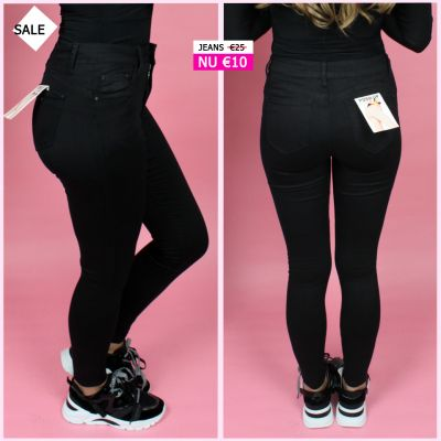 PRE ORDER Musthave Black Push Up Jeans WORD 02-06 VERZONDEN