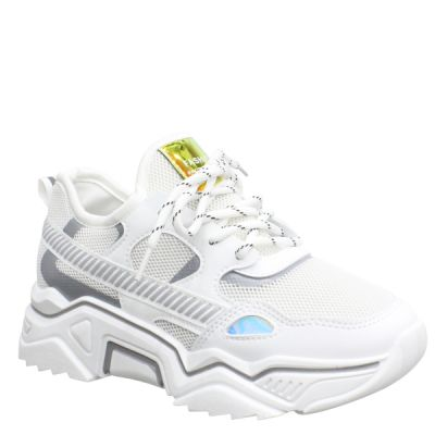 PRE ORDER Fashion Sneaker MEB 206 WHITE WORD 07-04 VERZONDEN