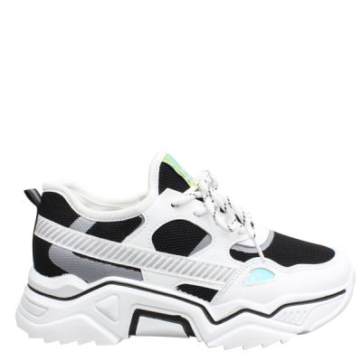Fashion Sneaker MEB206 BLACK